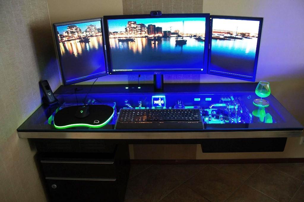 gaming computer desk plans RIKYTDD
