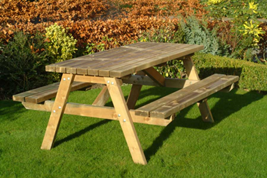 garden benches heavy duty picnic bench WOUDYAN
