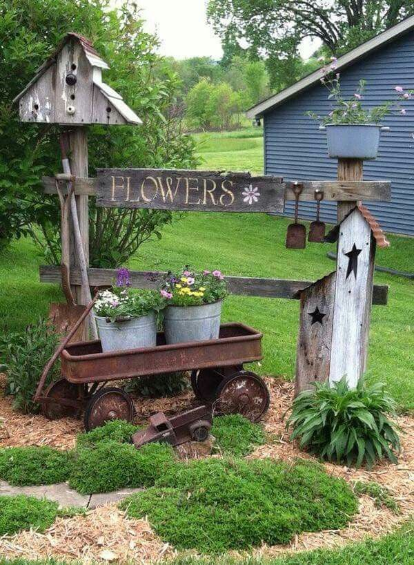garden decor 20 country garden decoration ideas JIPHGAW