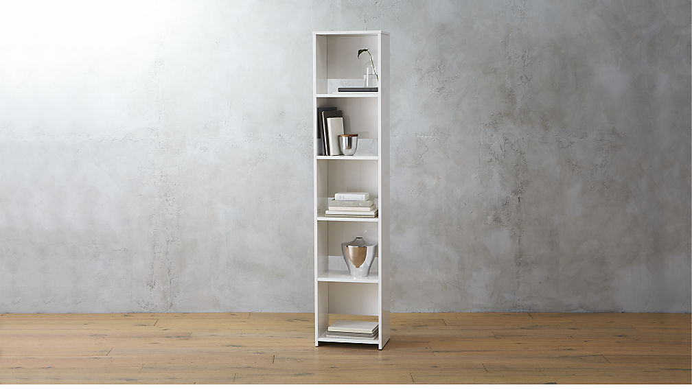 Store Your Books In Narrow Bookcase