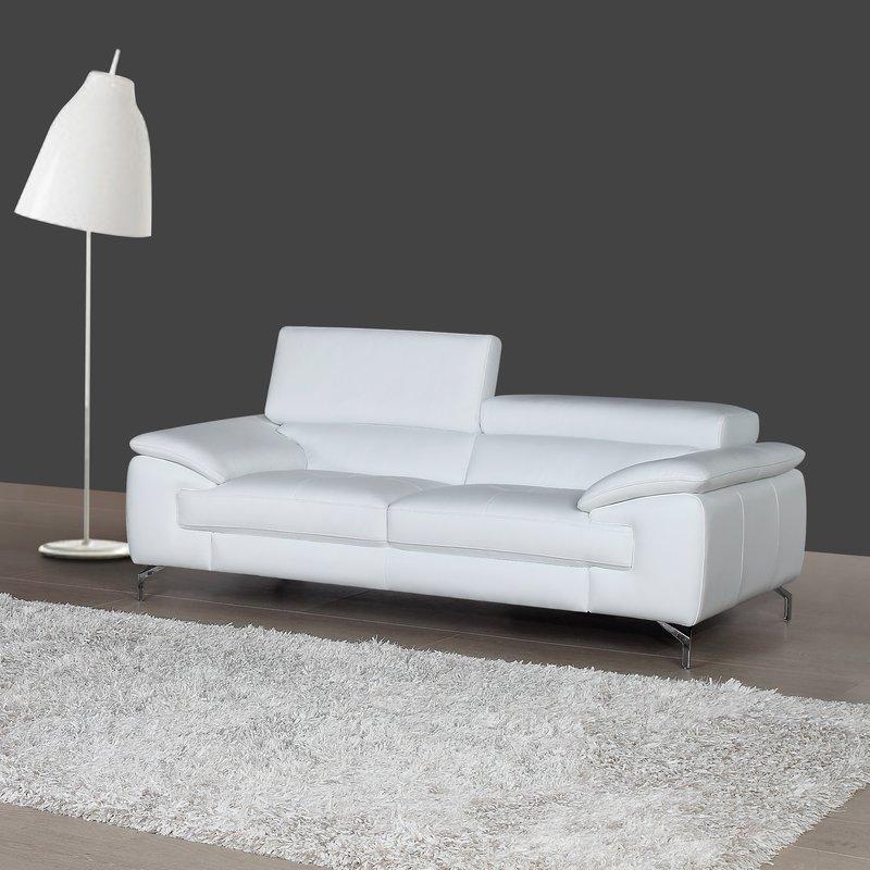 gideon italian leather sofa GXOXCKH