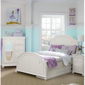 girl bedroom sets kassidy panel configurable bedroom set MSQKFVO