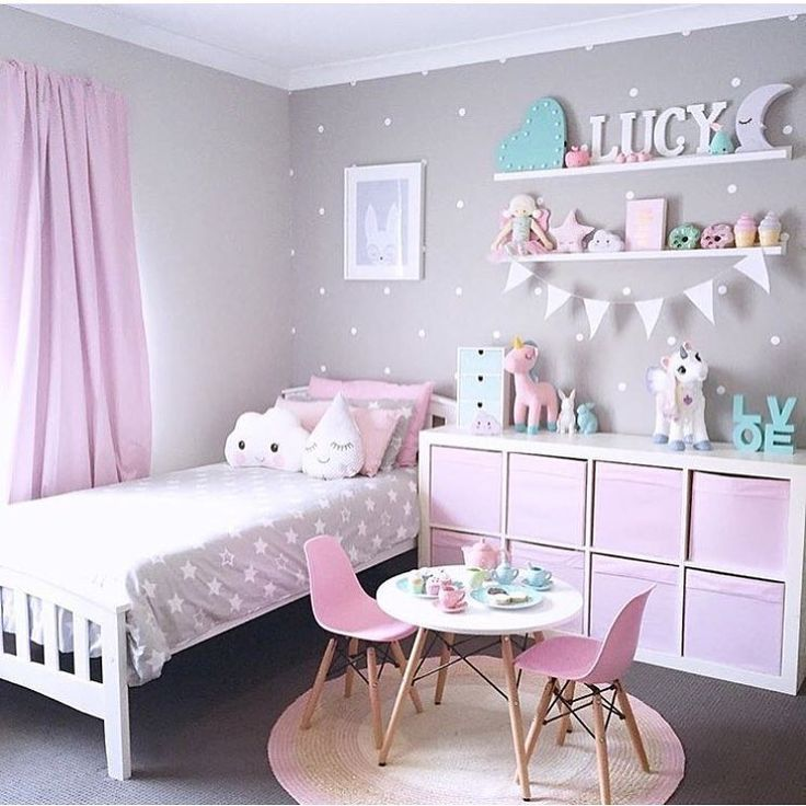 girls bedroom decor 34 girls room decor ideas to change the feel of the room GVPOYXZ