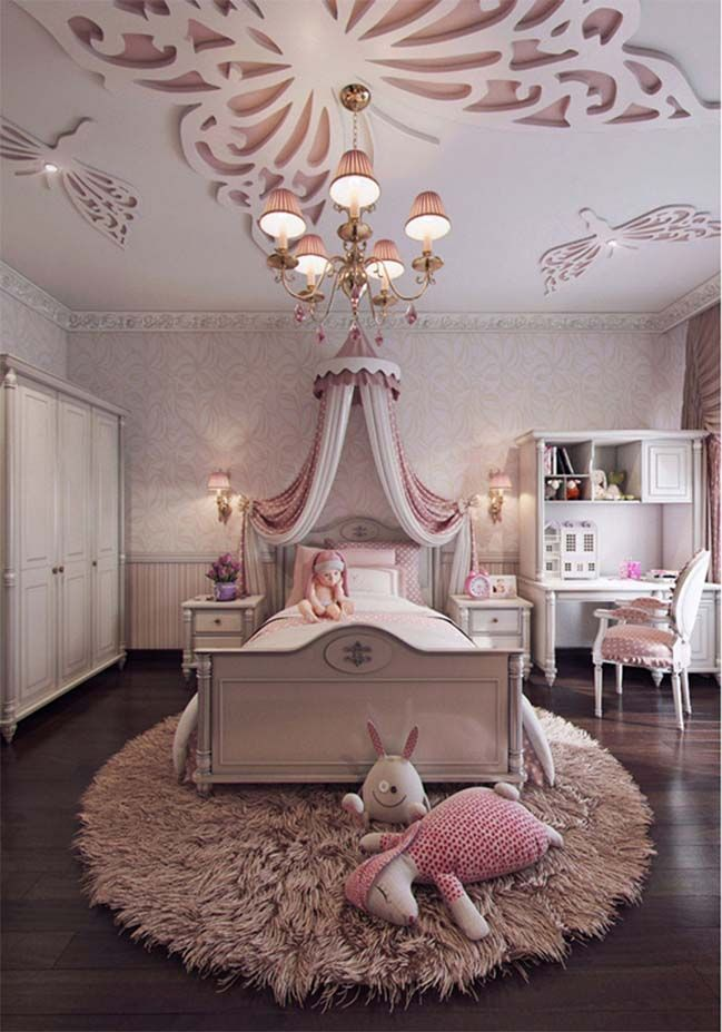 girls bedroom designs 57 awesome design ideas for your bedroom ARZDXJS