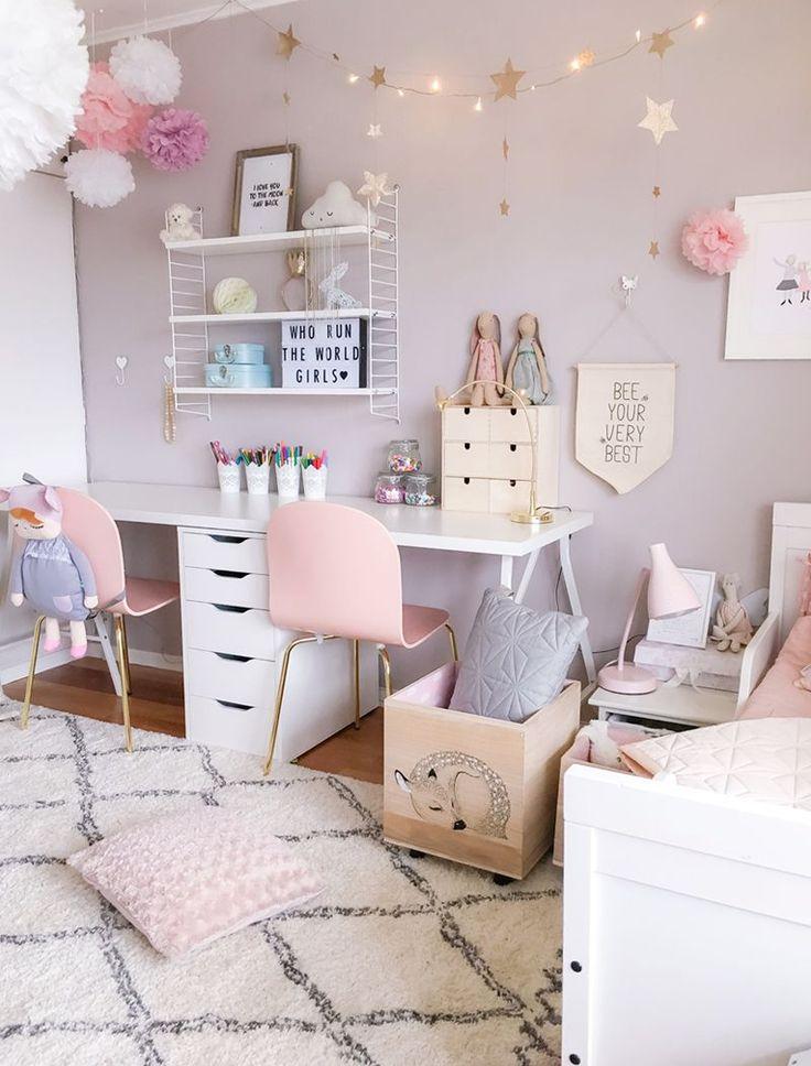girls bedroom designs a scandinavian style shared girlsu0027 room - by BQKCUKA
