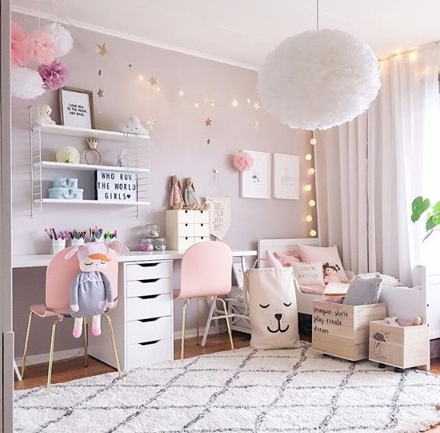 girls bedrooms a pretty pink girlu0027s room - is to me YYGOMLH