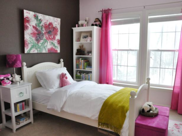 girls bedrooms kids bedroom ideas | hgtv NOHMLXG