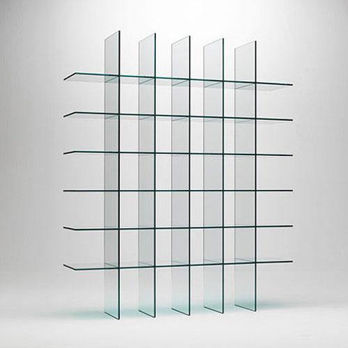 glas italia glass shelves ... SAZOZRU