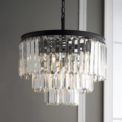 glass chandelier prism glass fringe chandelier LFHFFSZ