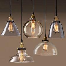 glass lamp shades new modern vintage industrial retro loft glass ceiling lamp shade pendant  light PBWVZVR