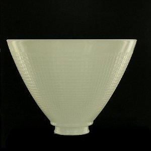 glass lamp shades upgradelights 8 inch glass floor lamp reflector shade glass lamp glass INUXPUO