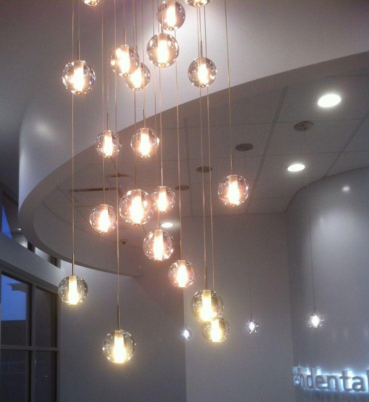 globe lighting are great alternative to bocci lighting. modern lighting  design using VZKBSEK