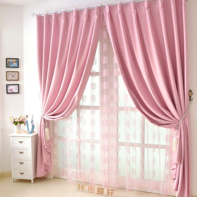 Pink Curtains Inspire Hope and Eliminate Anger