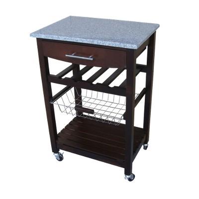 granite top kitchen cart LFEMAGE