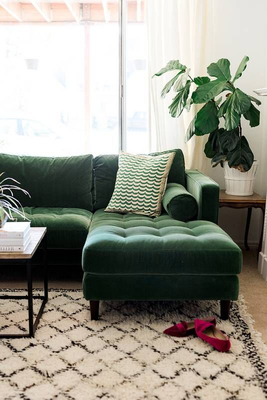 green sofa 10 decorating blogs that make designing on a budget a whole lot easier. VUAKLEF