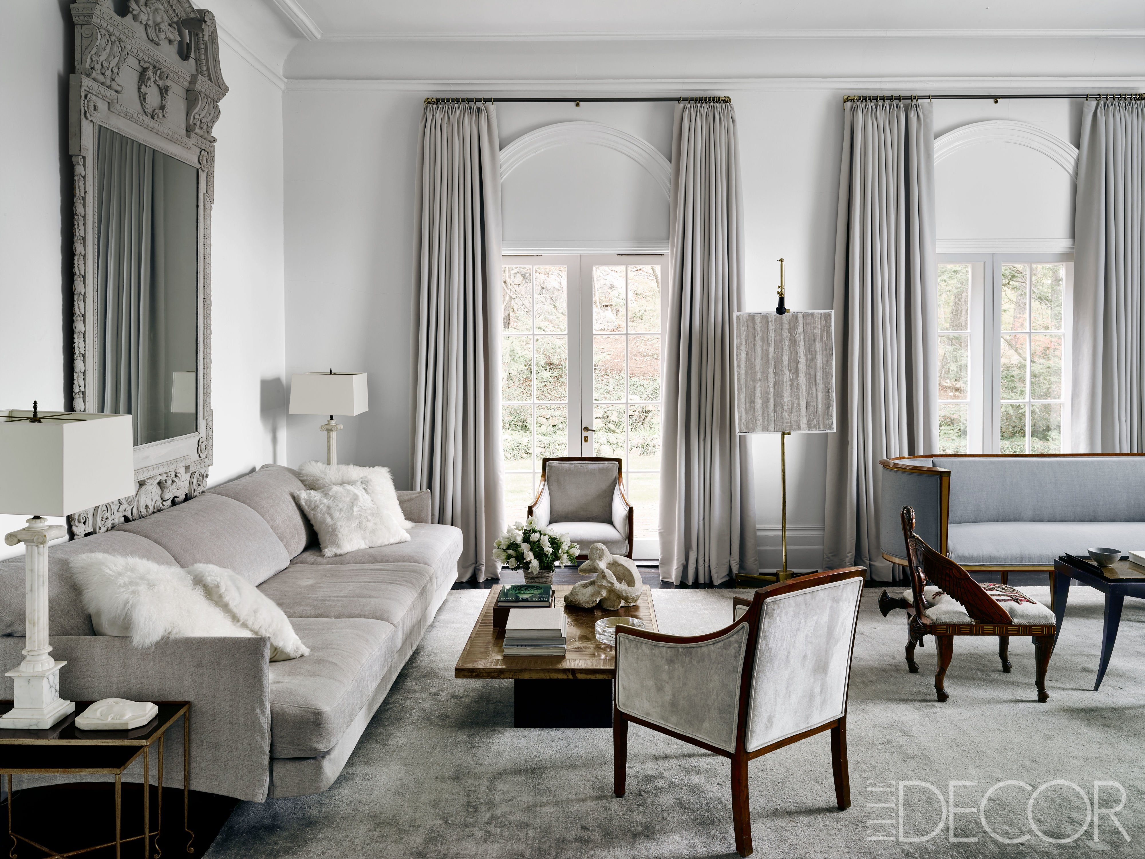 Grey Living Room 20 best gray living room ideas - grey rooms RLFFUUP