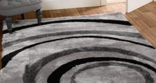 grey rugs grande vista droplet rugs in black and grey MZEQQWT