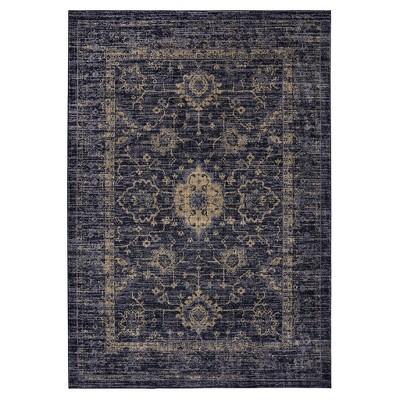 grey rugs ... vintage-look area rugs ... VWRCNLZ