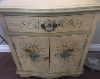 hand painted furniture home u0026 living, furniture, living room furniture, recycled furniture,  distressed furniture, OXZKZZJ