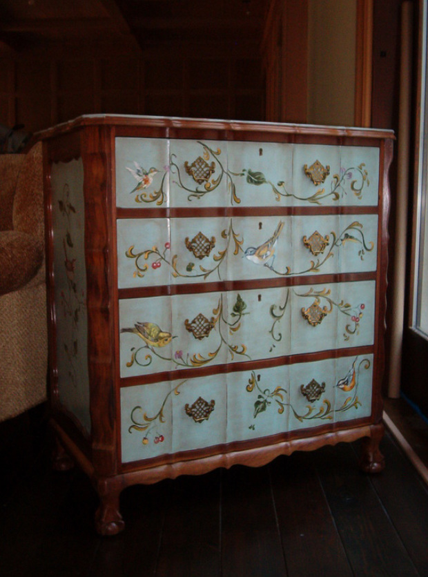 hand painted furniture - studio mcphail DCRXJED