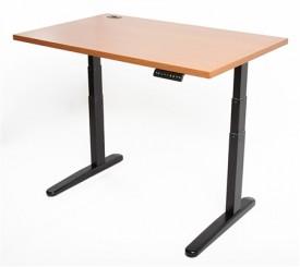 height adjustable desk the jarvis adjustable-height desk designed by ergo depot comes is several  widths MINUSMK