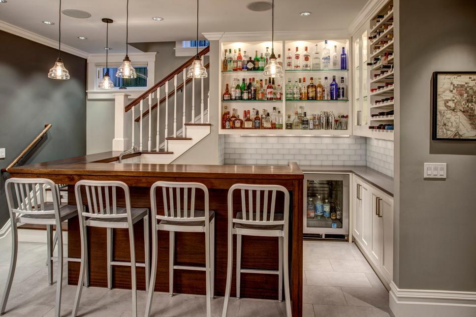 home bar designs home bar ideas: 89 design options | hgtv QGDLFOB