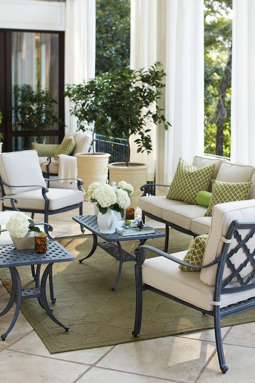 how to arrange your porch furniture SDMSDEC