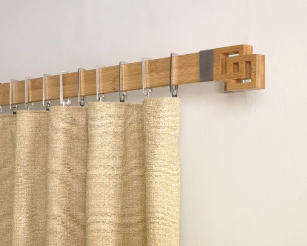 how to choose wooden curtain rods for your home - goodworksfurniture RCQJLLH