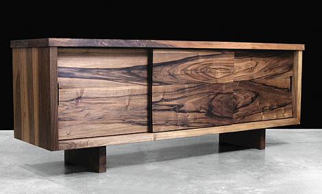 hudson furniture sliding door console modern solid wood furniture from  hudson furniture, YNJWUMI
