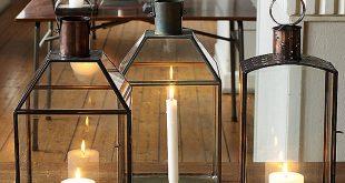hurricane lamps ... large metal hurricane lantern ... TOKVRAR