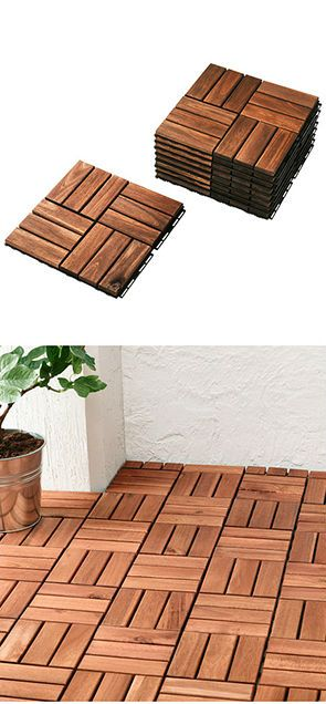 ikea fan favorite: runnen outdoor flooring. add a personal and stylish  touch CCSPNTV