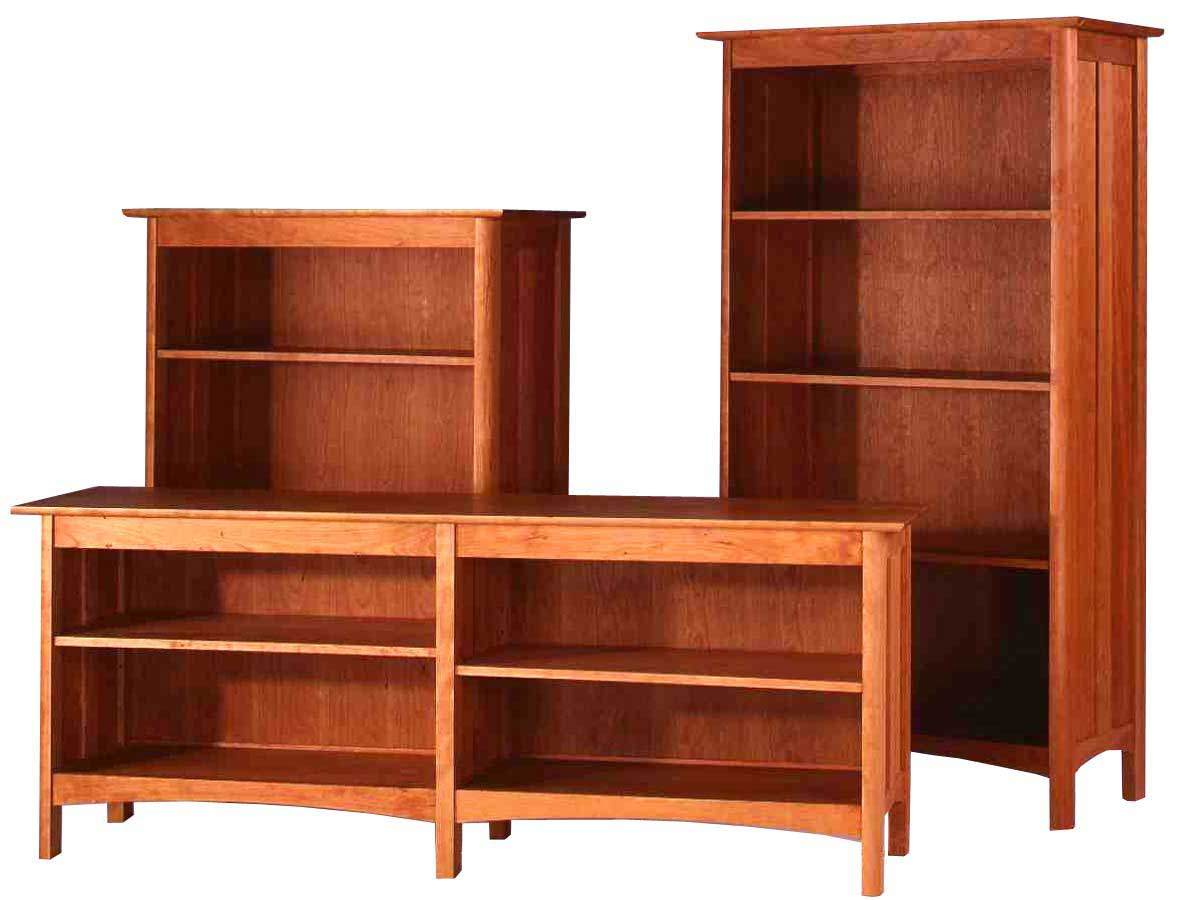 image of: solid wood bookcases size PDNBGBG