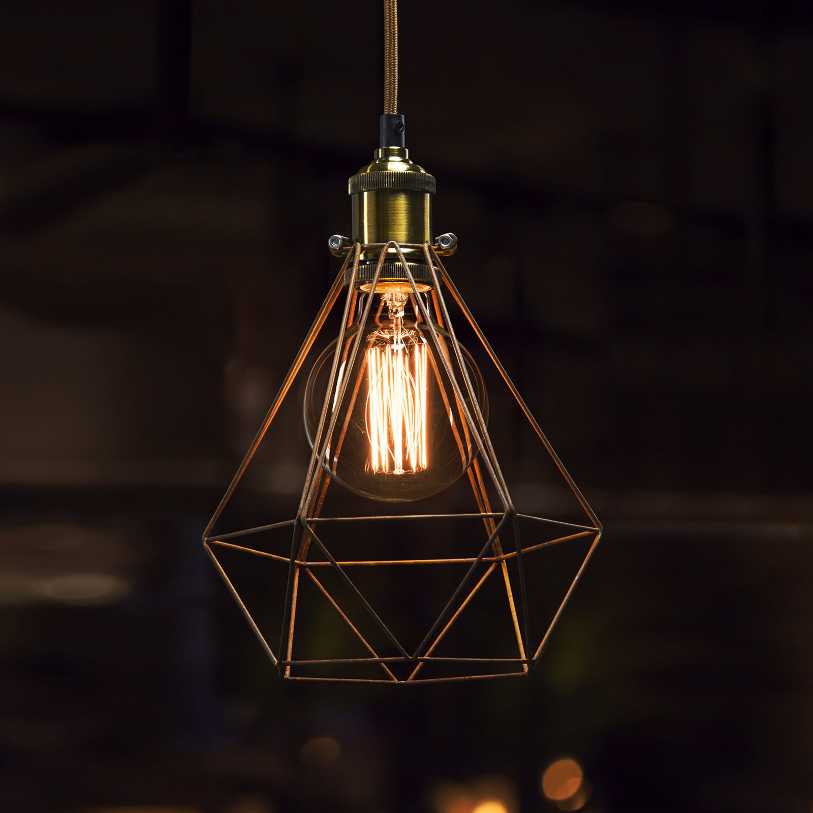 the place with the vintage lighting touch - goodworksfurniture