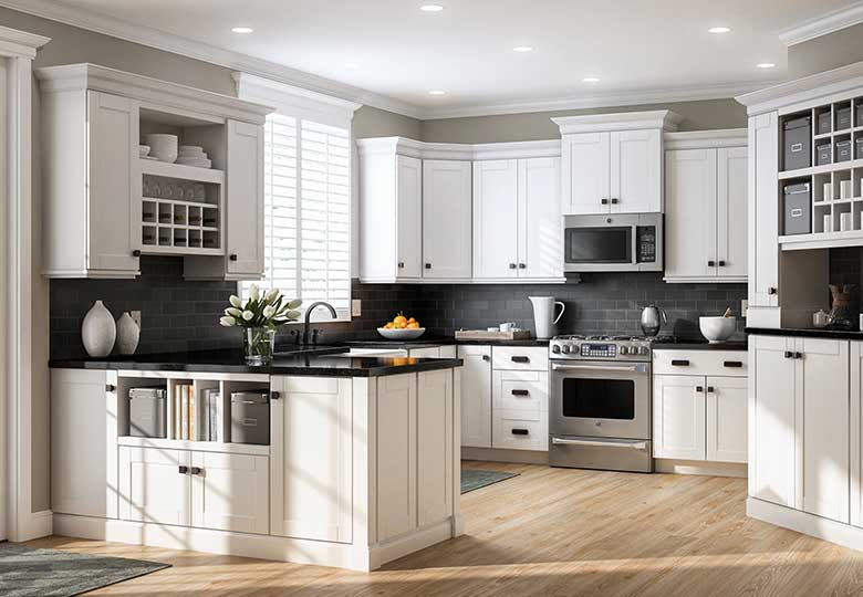 in-stock kitchen cabinets OCLSNBF