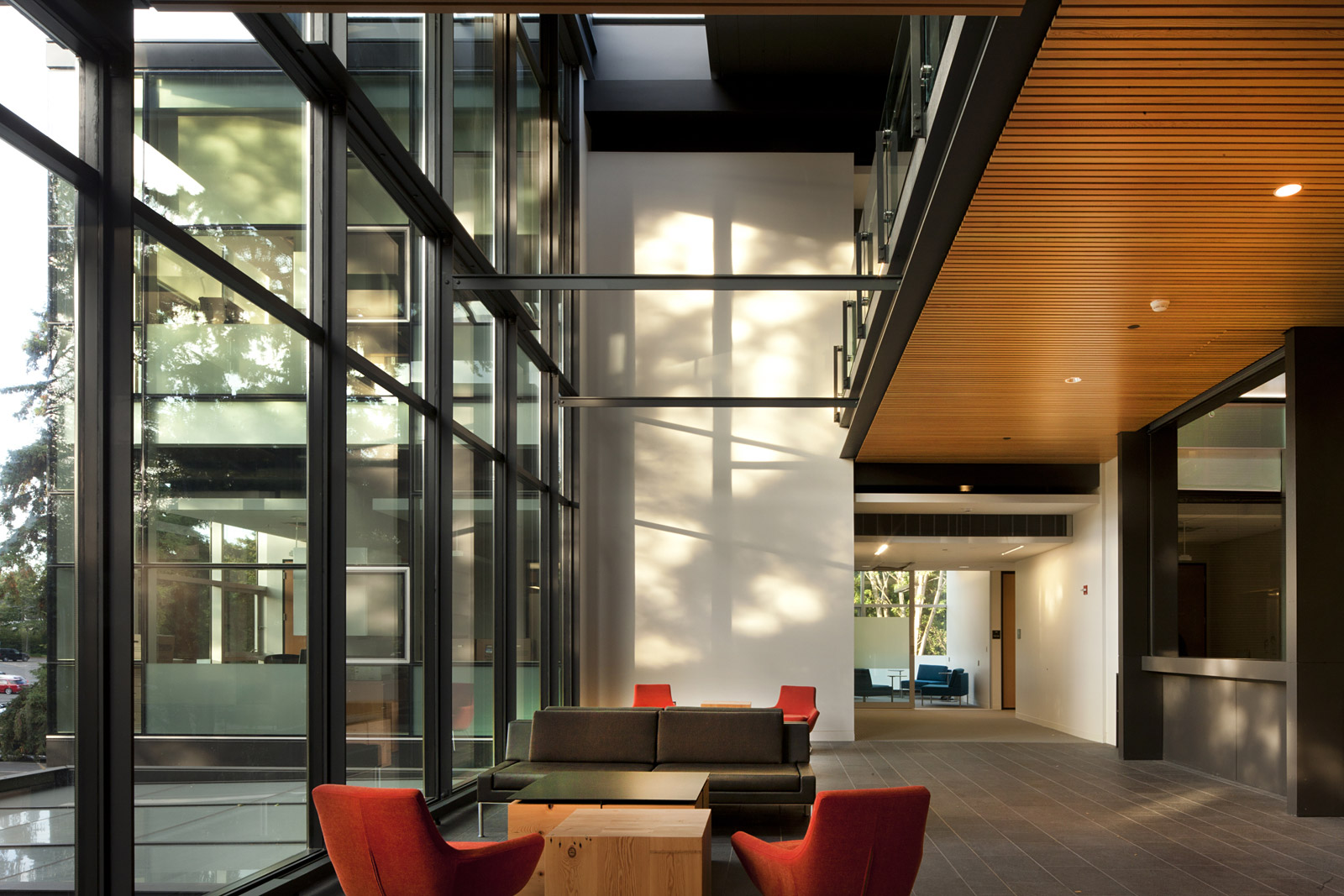interior architecture color and materials move you through the space. DGLGYGM
