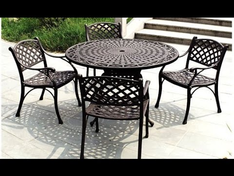 iron patio furniture~iron outdoor furniture australia - youtube QIORFYJ