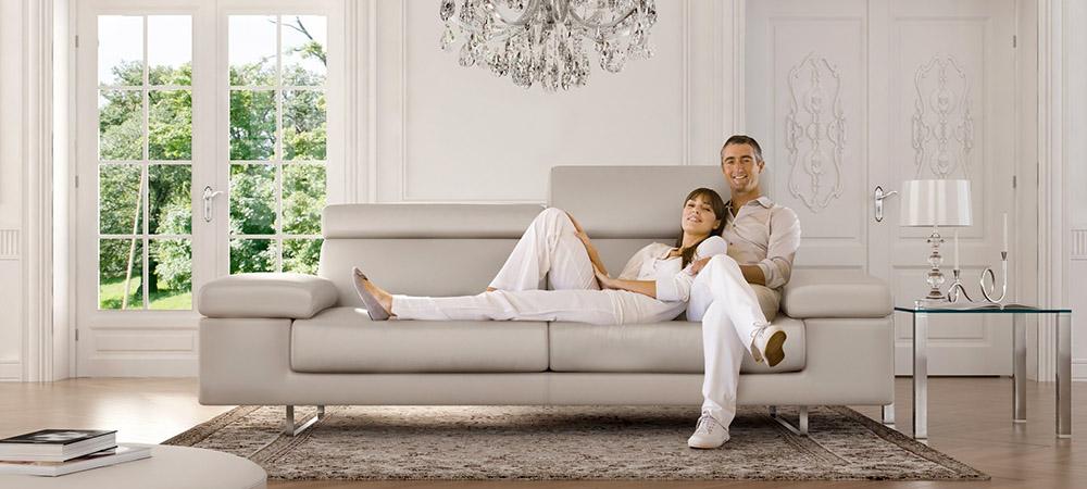 italian leather sofa leather sofa-3 seater residence FBYIIXN
