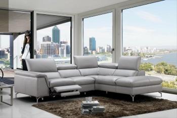 italian leather sofa refined 100% italian leather sectional NLDVCUR