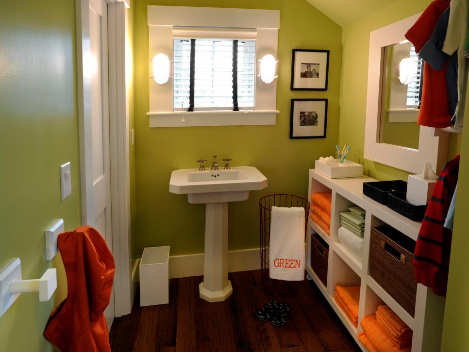 kids bathroom ideas 12 stylish bathroom designs for kids | hgtv MELNVBS