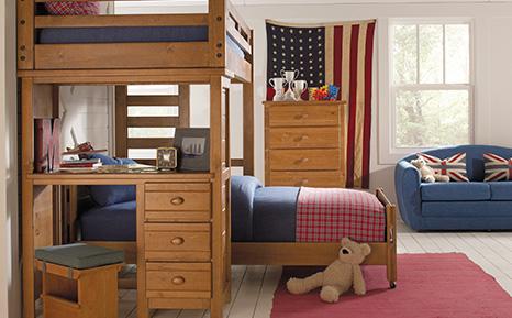 kids bedroom furniture sets full bedrooms · boys bunks bedrooms BLONWLE