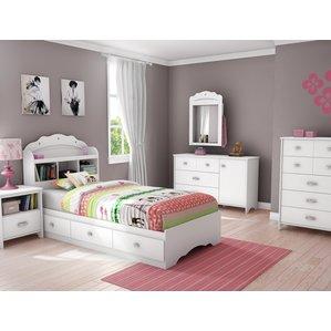 kids bedroom furniture sets tiara twin platform configurable bedroom set JNDNONW