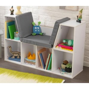 kids bookshelf kidsu0027 bookcases youu0027ll love | wayfair ZXVABZI