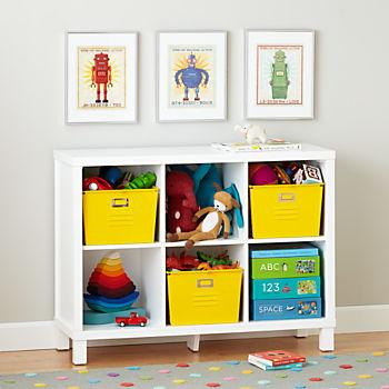 kids bookshelves cubic wide bookcase (6-cube) JDSWPUP