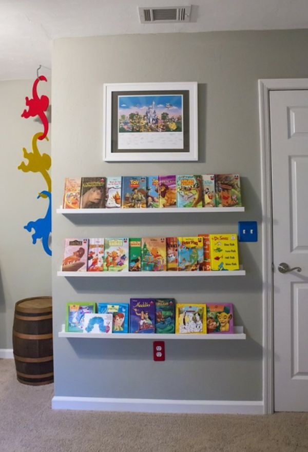 kids bookshelves design with storage system 10 cute minimalist bookshelves  for kids HHVKFGI
