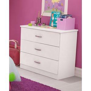 kids dressers libra 3 drawer chest XVACSVU