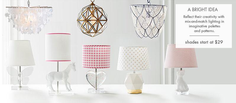 kids lamps kids and nursery lighting, lamps u0026 chandeliers | pottery barn kids AOTGJFE