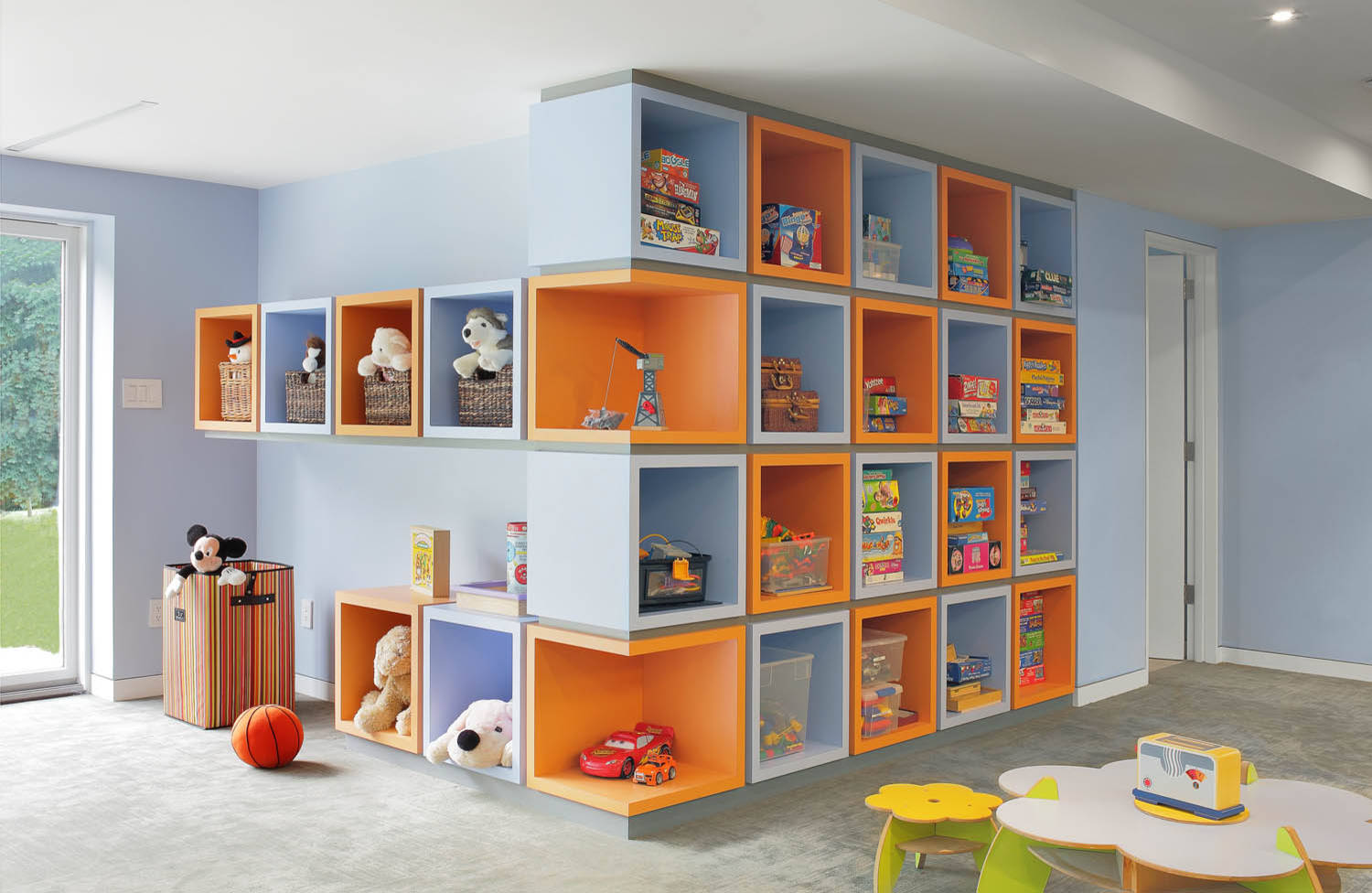 Kids Storage 11 Wall Of Cubes Vutewmh Ngaphpj