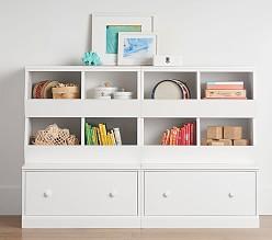 kids storage cameron 2 market bin cubby u0026 2 drawer base set BPFBRNE