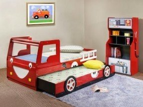 kids trundle beds UWUUDHZ
