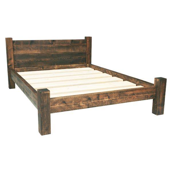 king size bed frames built from solid rustic timber, these wooden bed frames come in all sizes. OFSIWGB